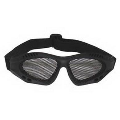Brýle AIRSOFT kovová møížka ÈERNÉ