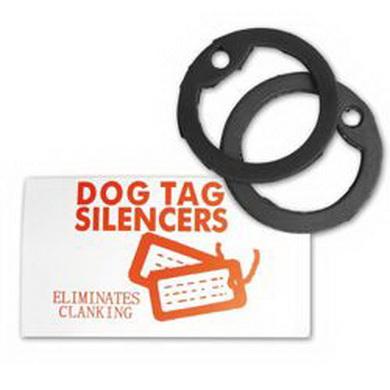 Tišítka /GUMY/ na US známky DOG TAG