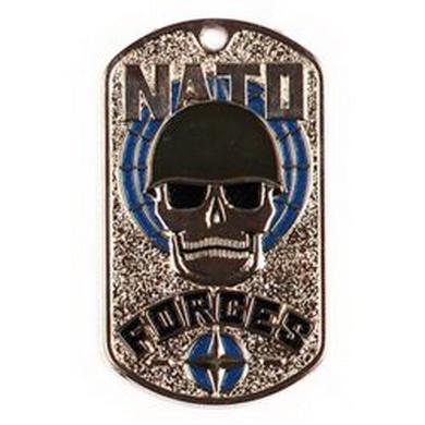 Známka s øetízkem NATO FORCES