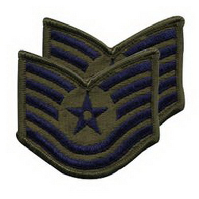 Nášivka hodnosti AIR FORCE TECHNICAL SERGEANT
