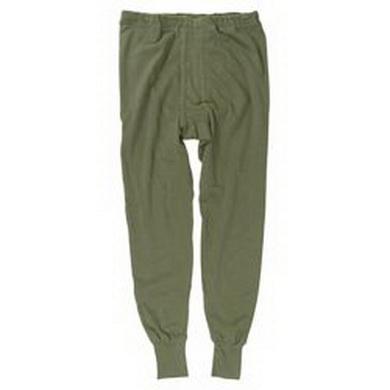 Spodky BW zimní kalhoty ZELENÉ použité
