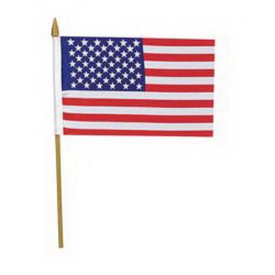 Vlajka na tyèce US