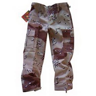 Kalhoty dìtské US BDU 6-COL DESERT