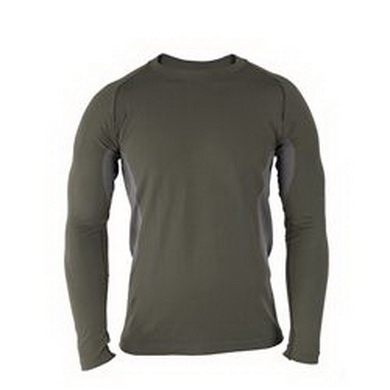Triko funkèní dl. rukáv APCU Level I lightweight baselayer ALPHA GREEN