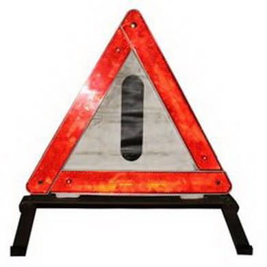 Trojúhelník do auta v boxu BW