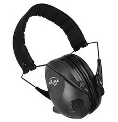 Sluchátka elekronická ACTIV proti hluku ÈERNÁ