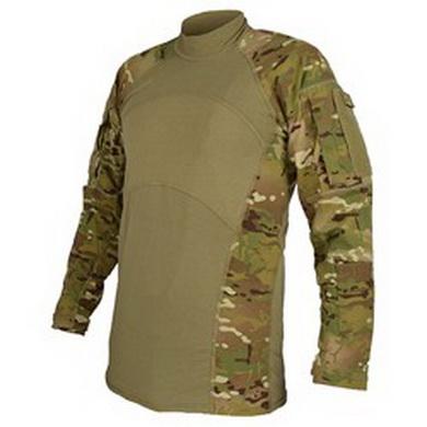 Košile taktická COMBAT rip-stop MULTICAM použitá