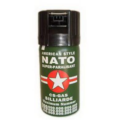Slzný obranný sprej Nato 40ml plnìný CS