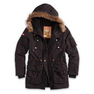 Parka TROOPER SUPREME ÈERNÁ