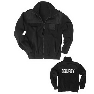 Bunda SECURITY fleece ÈERNÁ