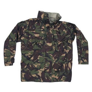 Bunda britská GORETEX DPM s kapucí v límci použitá