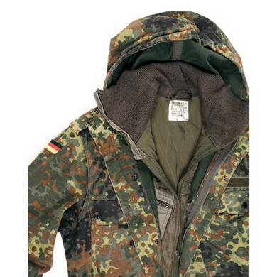 Bunda BW s kapucí a vložkou FLECKTARN