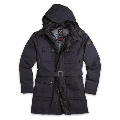 Kabát XYLONTUM zimní TMAVÌ MODRÝ