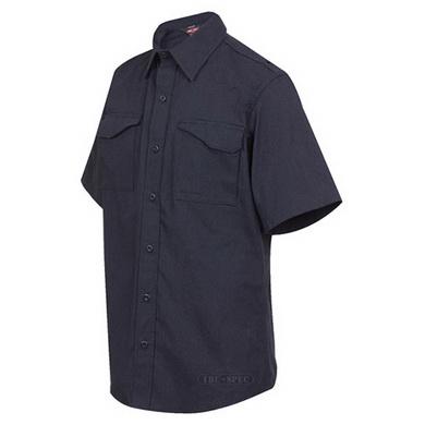 Košile XFIRE 80/20 krátký rukáv TM.MODRÁ