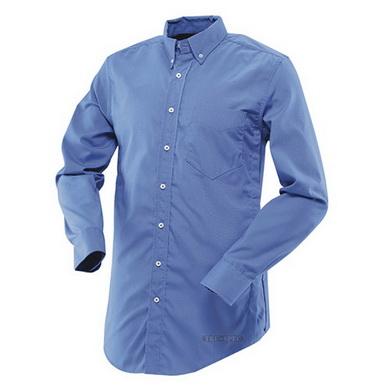 Košile 24-7 dlouhý rukáv MODRÁ