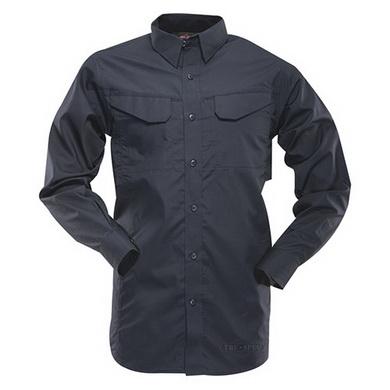 Košile 24-7 dlouhý rukáv rip-stop MODRÁ