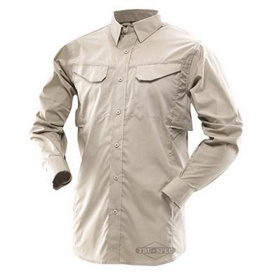 Košile 24-7 dlouhý rukáv rip-stop KHAKI
