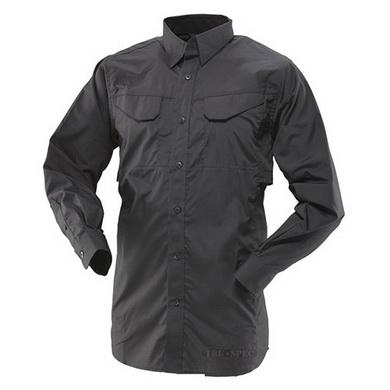 Košile 24-7 dlouhý rukáv rip-stop ÈERNÁ