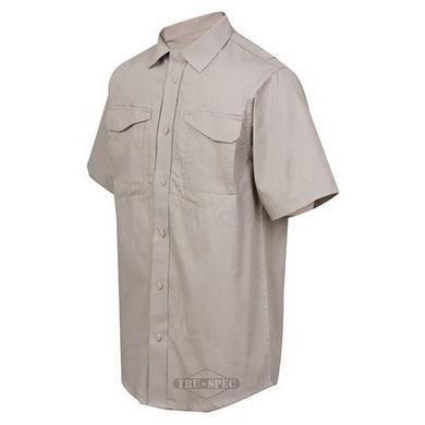 0746b6a85ac Košile krátký rukáv 24-7 KHAKI