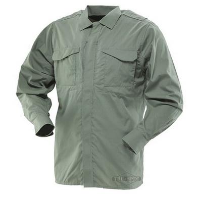 59774db7686 Košile 24-7 dlouhý rukáv rip-stop ZELENÁ