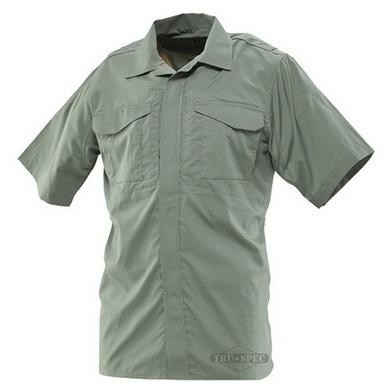 Košile 24-7 krátký rukáv rip-stop ZELENÁ