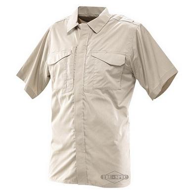 Košile 24-7 krátký rukáv rip-stop KHAKI