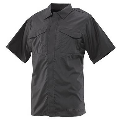 Košile 24-7 krátký rukáv rip-stop ÈERNÁ
