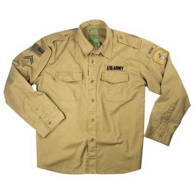 Košile SPECIAL FORCES VINTAGE KHAKI