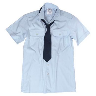Košile služební BW kr.rukáv MODRÁ použitá