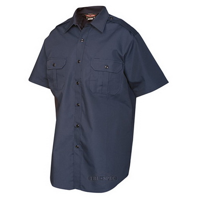 Košile služební krátký rukáv TRU rip-stop MODRÁ