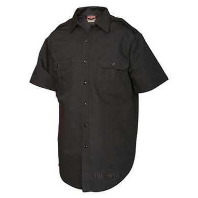 Košile služební krátký rukáv TRU rip-stop ÈERNÁ