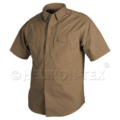 Košile DEFENDER kr.rukáv COYOTE