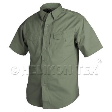 Košile DEFENDER kr.rukáv ZELENÁ