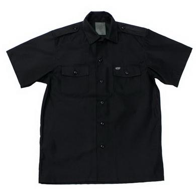 Košile US krátký rukáv ÈERNÁ