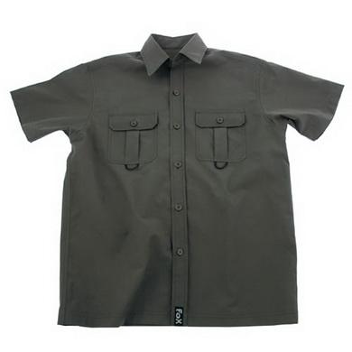 Košile OUTDOOR krátký rukáv ZELENÁ