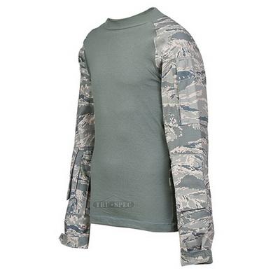 Košile taktická COMBAT TRU rip-stop ABU