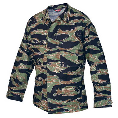 Košile taktická BDU ORIGINAL rip-stop TIGER STRIPE GREEN
