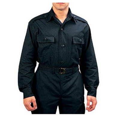 Košile taktická dlouhý rukáv ÈERNÁ