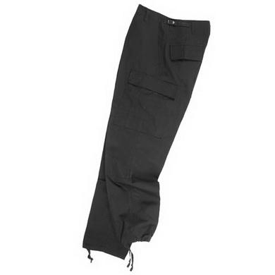 Kalhoty US BDU ripstop - èerné