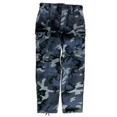 Kalhoty US BDU typ RANGER DARK CAMO