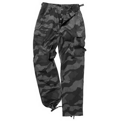 Kalhoty US BDU typ RANGER WH SPLINTERNIGHT