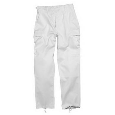 Kalhoty US BDU typ RANGER BÍLÁ