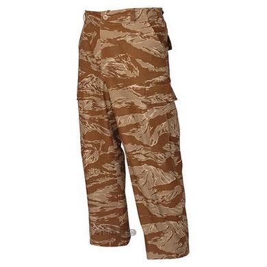 Kalhoty BDU ORIGINAL rip-stop DESERT TIGER STRIPE
