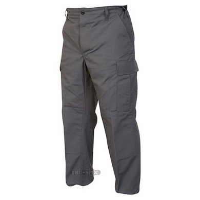 Kalhoty taktické BDU rip-stop TMAVÌ ŠEDÁ