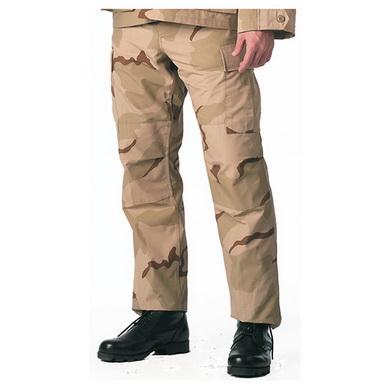 Kalhoty BDU 3-COL DESERT