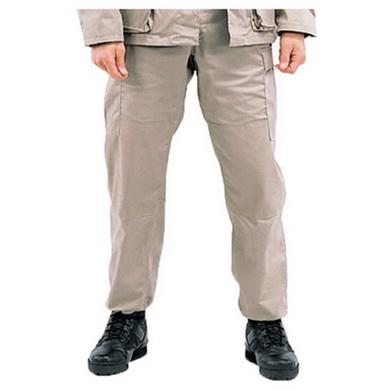 Kalhoty BDU rip-stop KHAKI