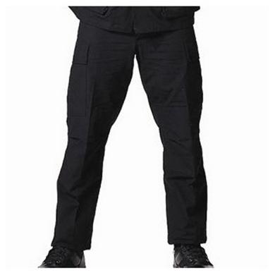 Kalhoty BDU rip-stop ÈERNÉ