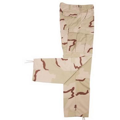 Kalhoty US BDU rip-stop 3 COL. DESERT