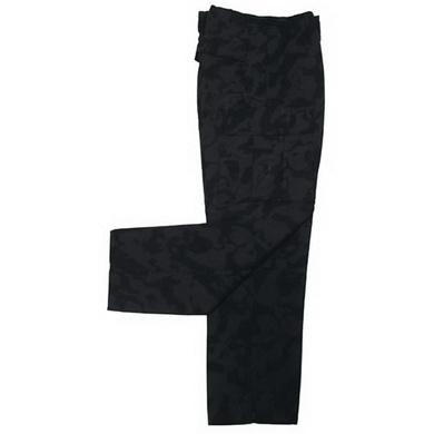 Kalhoty US BDU rip-stop NIGHTCAMO
