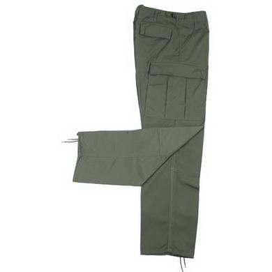 Kalhoty US BDU rip-stop ZELENÉ